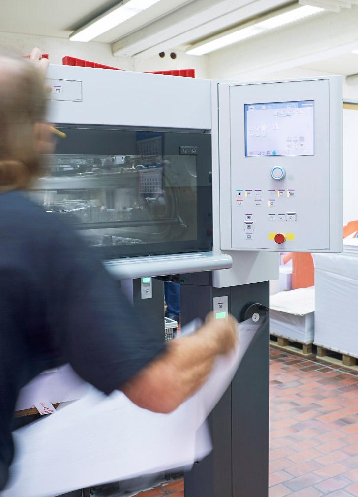 Bogen-Offsetdruck – unsere Kernkompetenz