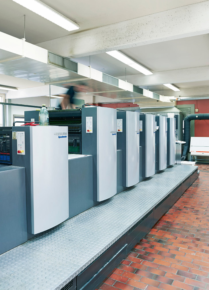 Unsere Offsetdruckmaschinen